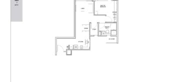 kent-ridge-hill-residences-floor-plan-1-bedroom-study-as2-singapore