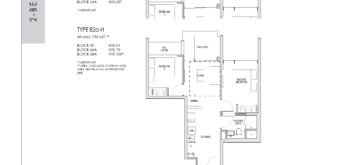 kent-ridge-hill-residences-floor-plan-2-bedroom-b2a-b2b-singapore