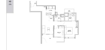 kent-ridge-hill-residences-floor-plan-2-bedroom-bp4-singapore
