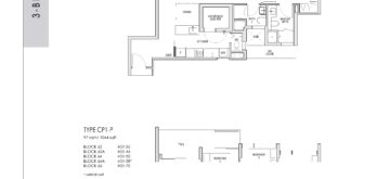 kent-ridge-hill-residences-floor-plan-3-bedroom-cp1-singapore