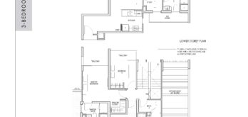 kent-ridge-hill-residences-floor-plan-3-bedroom-study-penthouse-csph1