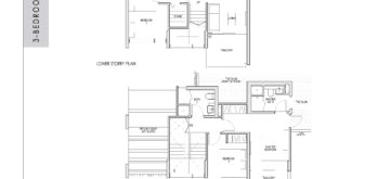 kent-ridge-hill-residences-floor-plan-3-bedroom-study-penthouse-csph2