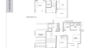kent-ridge-hill-residences-floor-plan-3-bedroom-study-penthouse-csph3