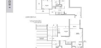 kent-ridge-hill-residences-floor-plan-4-bedroom-penthouse-dph1-singapore