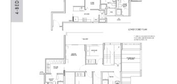 kent-ridge-hill-residences-floor-plan-4-bedroom-penthouse-dph2-singapore
