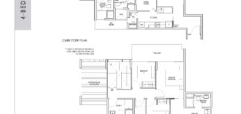 kent-ridge-hill-residences-floor-plan-4-bedroom-penthouse-dph4-singapore