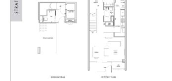 kent-ridge-hill-residences-floor-plan-strata-terrace-basement-1st-storey-t1-singapore