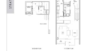 kent-ridge-hill-residences-floor-plan-strata-terrace-basement-1st-storey-t1a-singapore